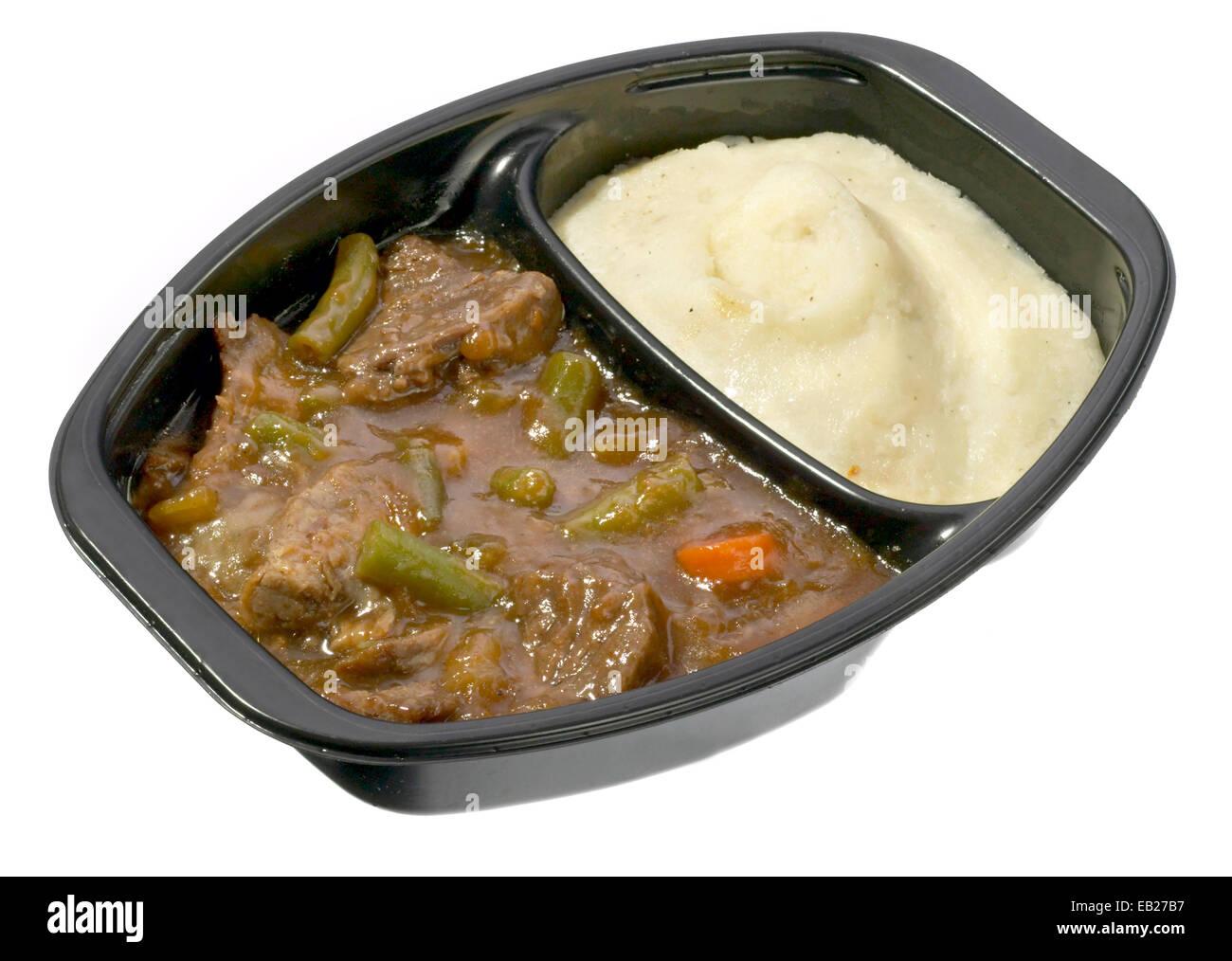 tv dinner by lean cuisine - Stock Image