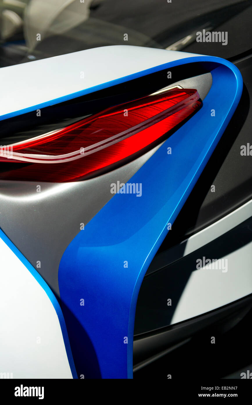 BMW Concept Car Visio VL - Stock Image