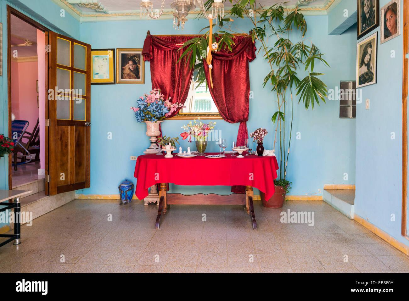Cuban Living Room Stock Photos & Cuban Living Room Stock Images - Alamy