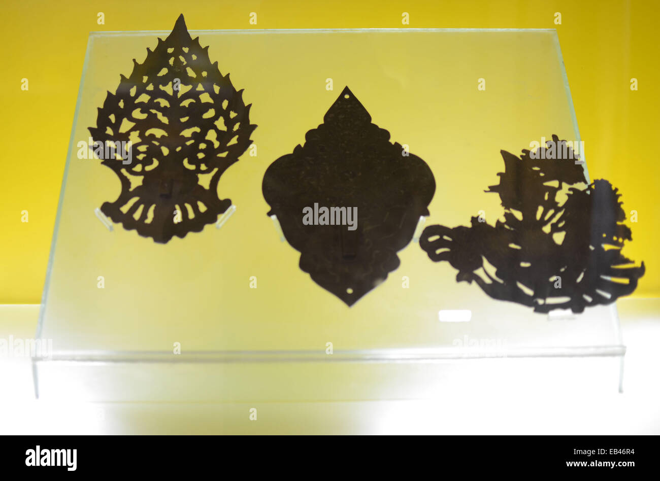 Decoration of wall lamp collection of Majapahit Museum in old Stock ...