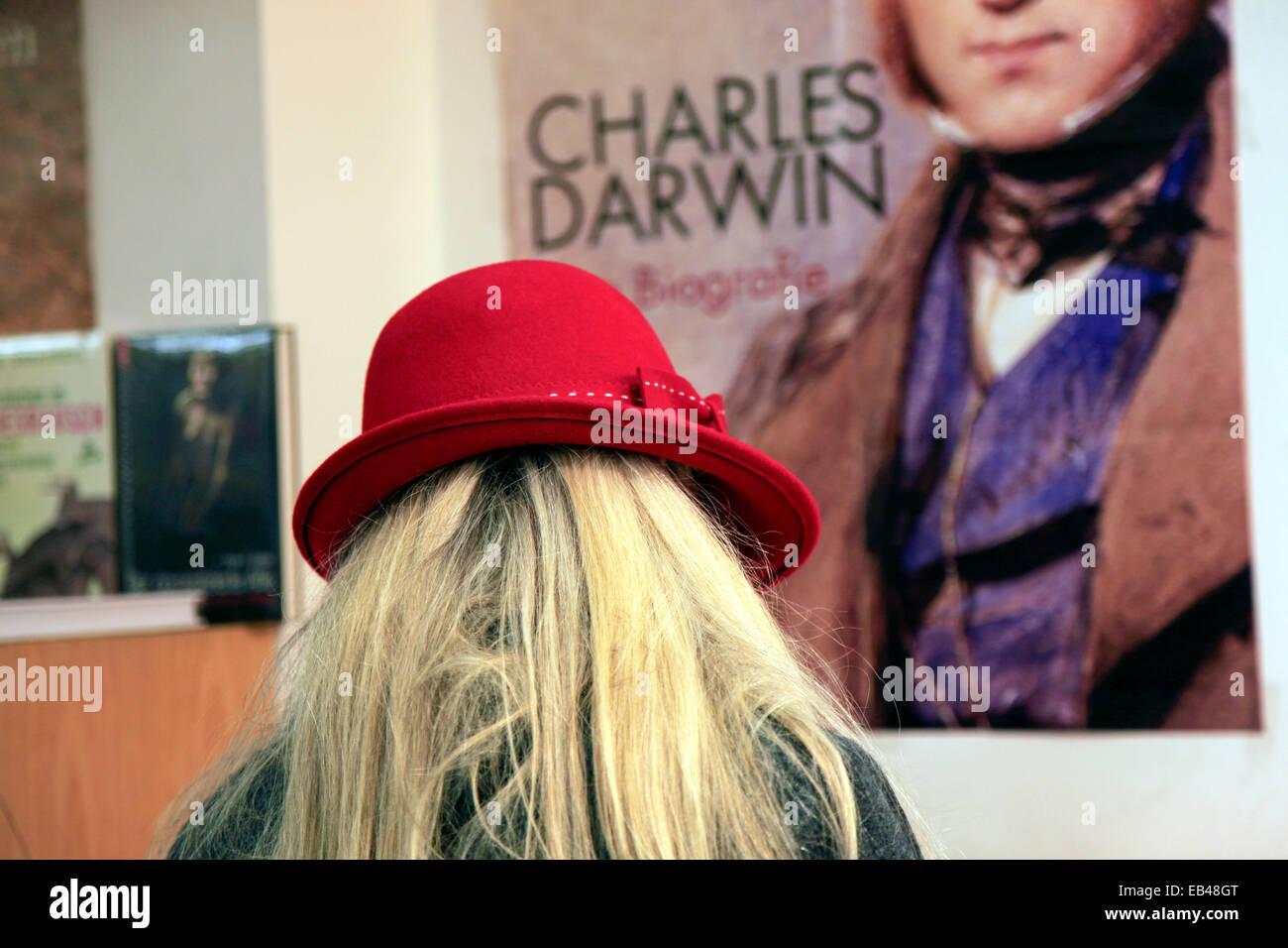 Charles Darwin and Evolution - Stock Image