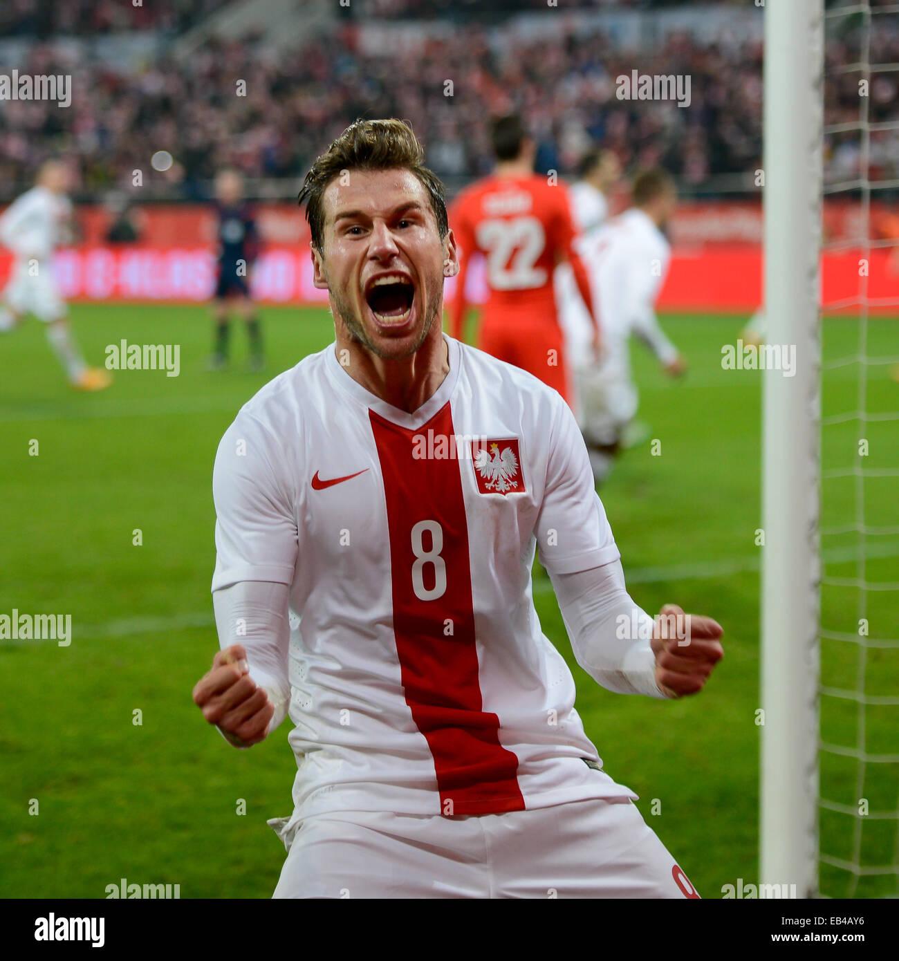 Great Grzegorz Krychowiak - wroclaw-poland-november-18-2014-grzegorz-krychowiak-during-match-poland-EB4AY6  Best Photo Reference-462316.jpg
