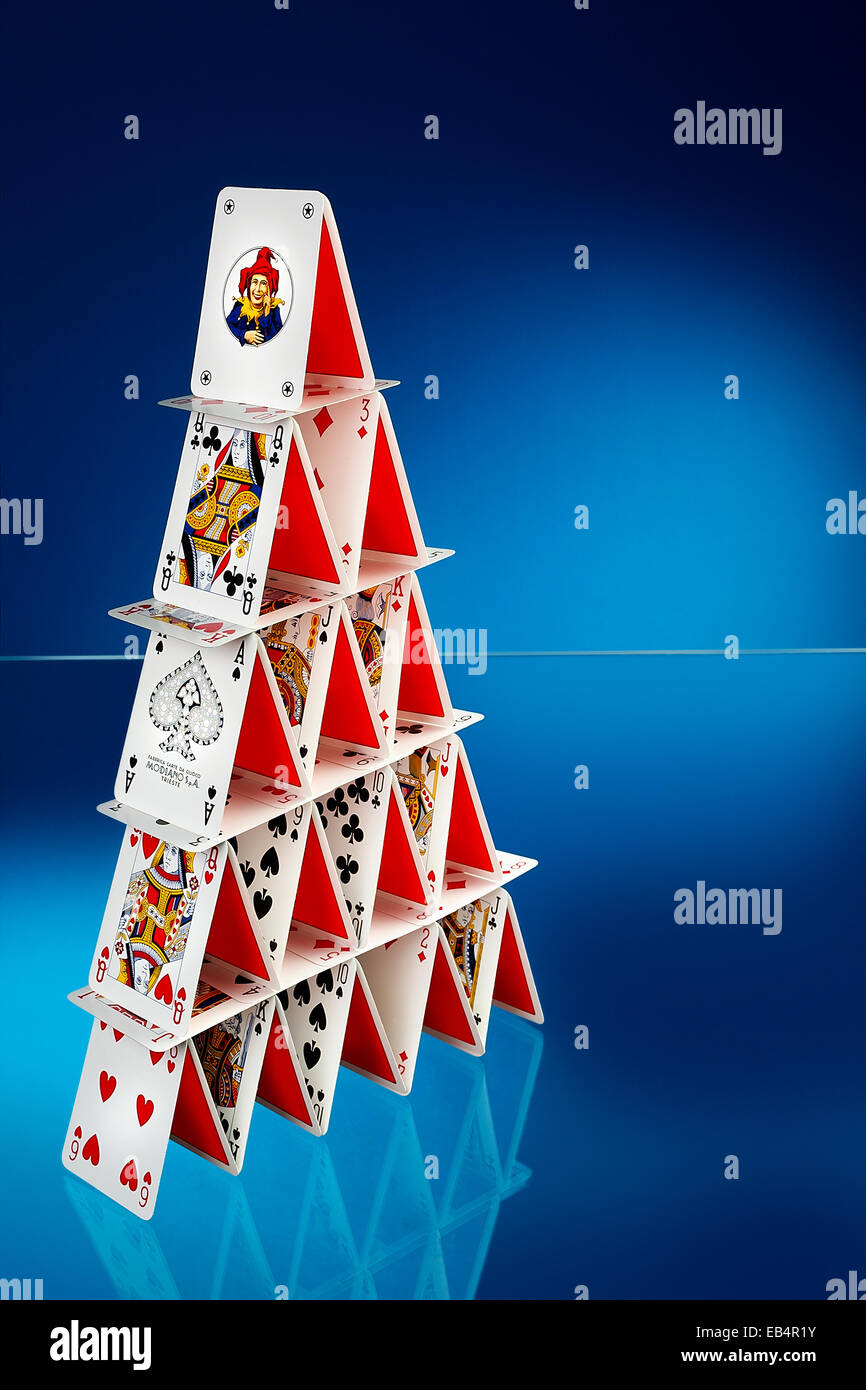 deck of cards - Stock Image