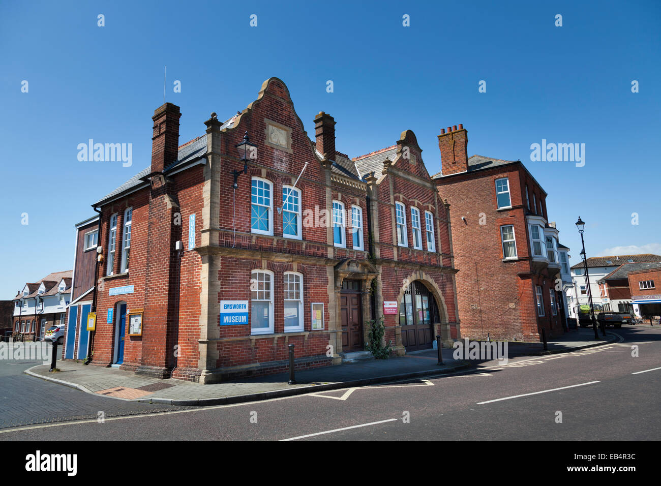 Emsworth museum and fire station exterior. Stock Photo