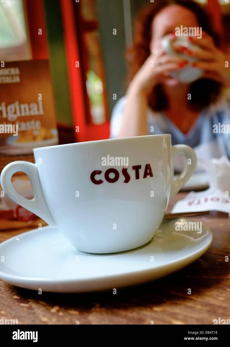 England Coffee Mug Uk Cappuccino Alamy Photo75709354 Costa Stock sBrQtCxhd
