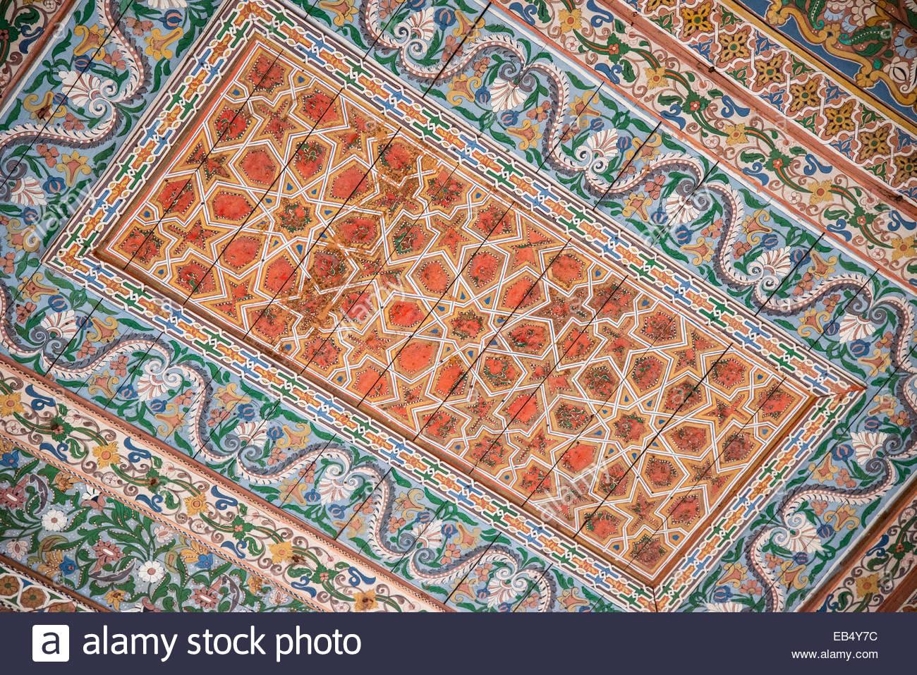 19th century tiles stock photos 19th century tiles stock images mosaic tiles in 19th century bahia palace marrakech stock image shiifo