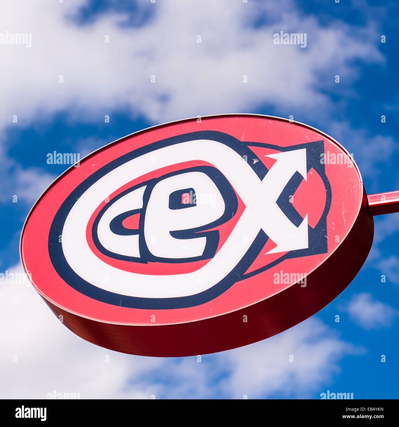 The Cex Entertainment Exchange Shop Store In Durham England Britain Uk