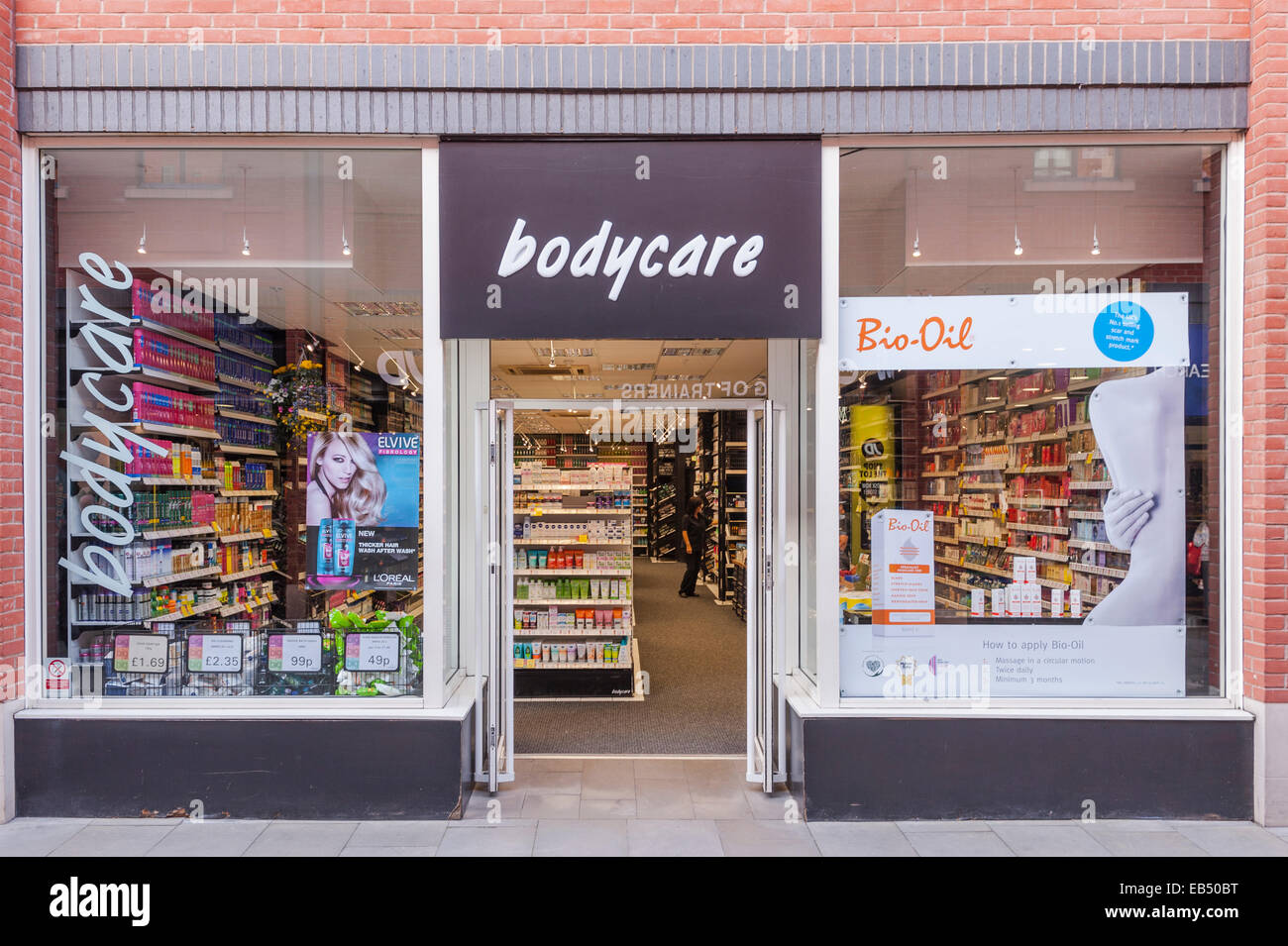 The Bodycare shop store in Durham , England , Britain , Uk - Stock Image