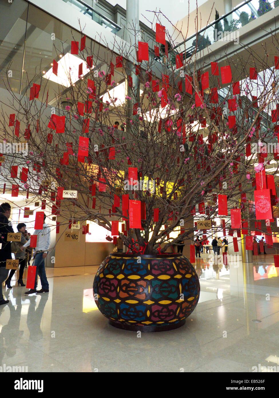 China Hong Kong Chinese Lunar New Year decoration in ...
