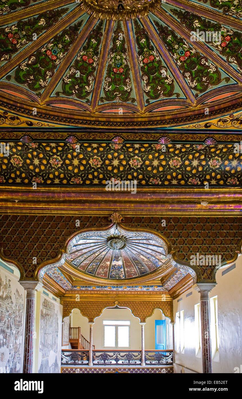 Tunisia, Tunis, the Del Bardo museum Stock Photo