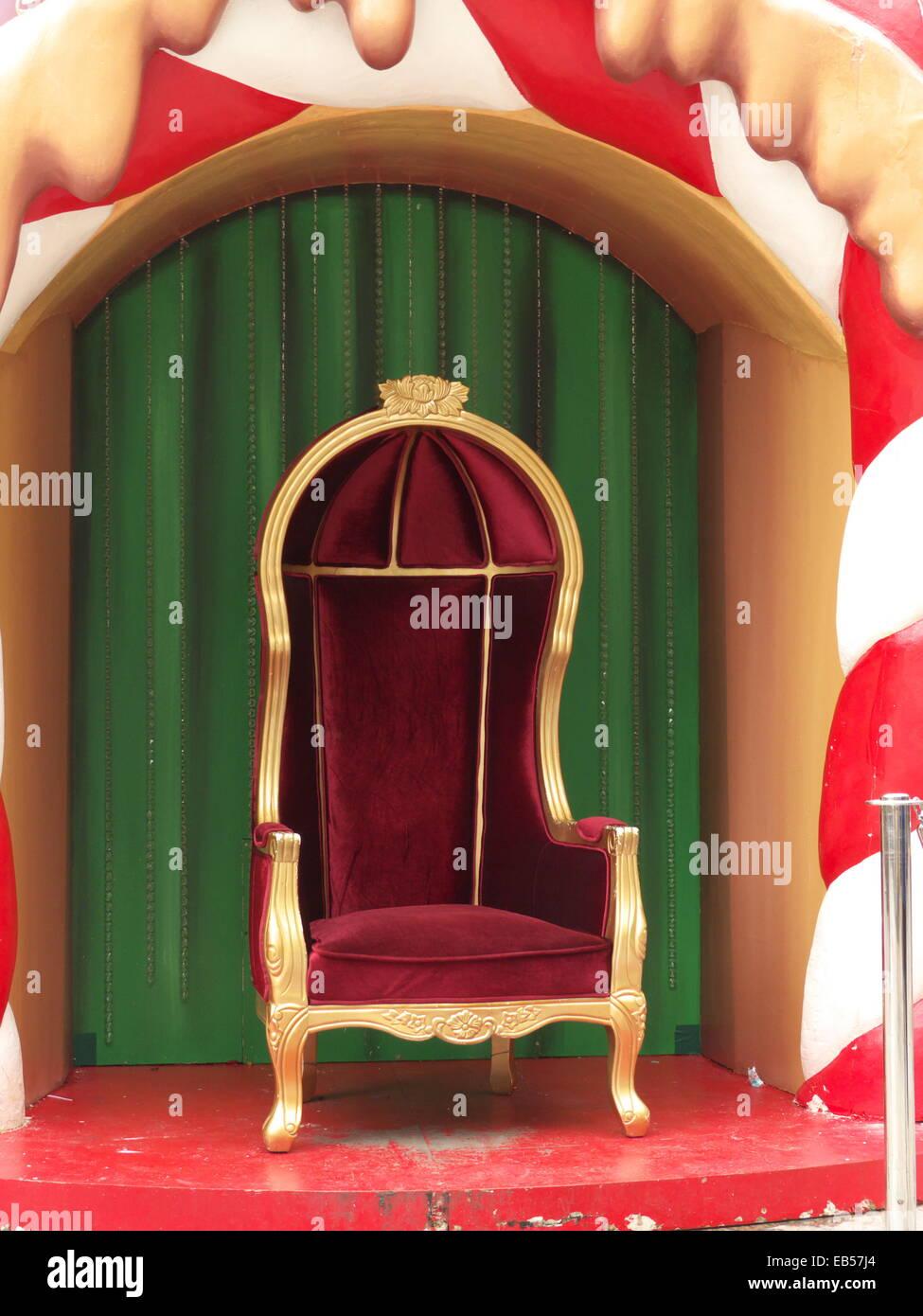 Royal King Chair - Stock Image
