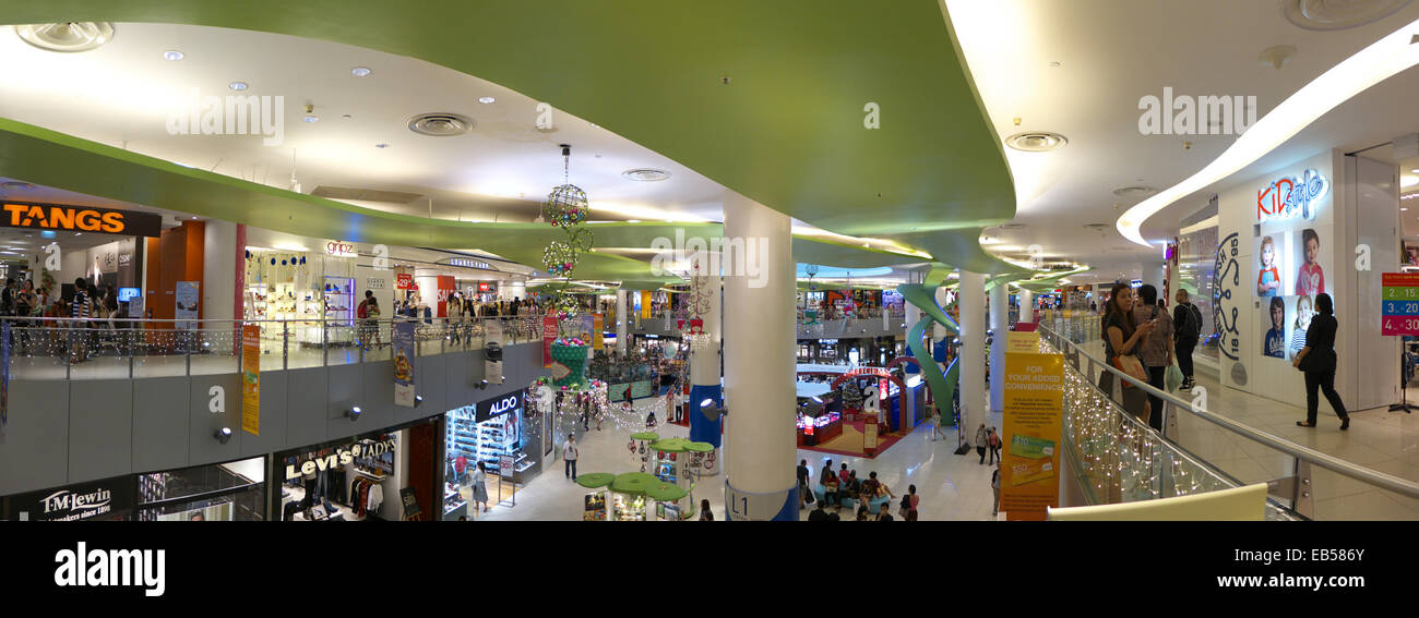 South East Asia Singapore Vivo City shopping mall interior - Stock Image