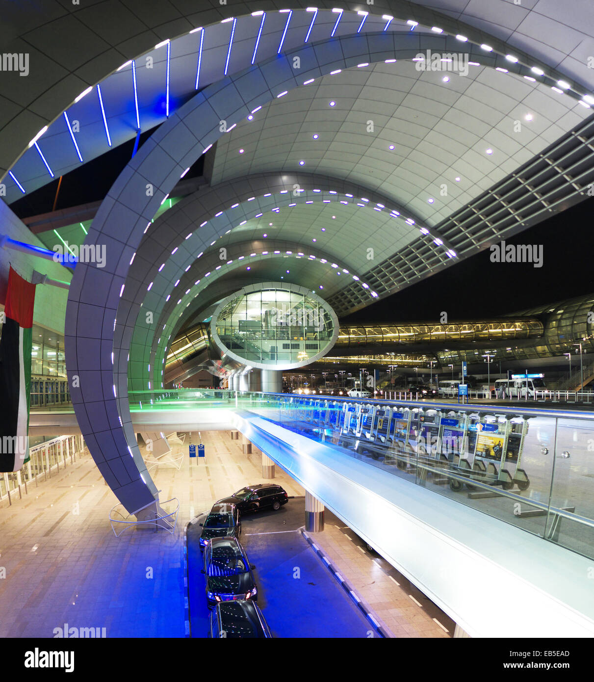 Uae Dubai International Airport Architecture Modern Arrival