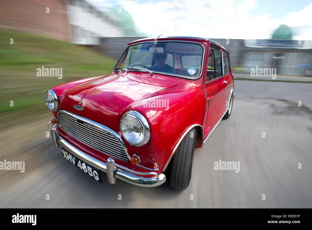1968 Austin Mini Cooper S rig shot - Stock Image