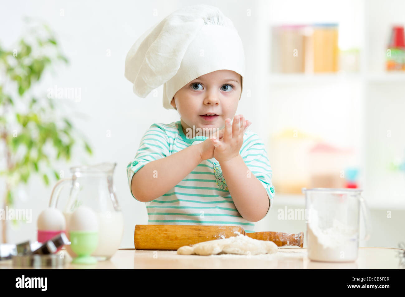 83ce9604be7 Baby Chef Little Baby In Stock Photos   Baby Chef Little Baby In ...