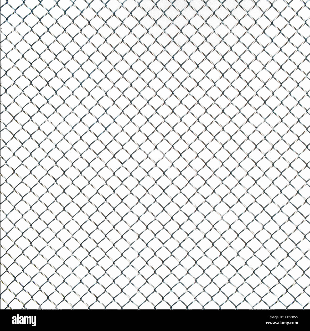 Close up on wire mesh texture on white background Stock Photo ...