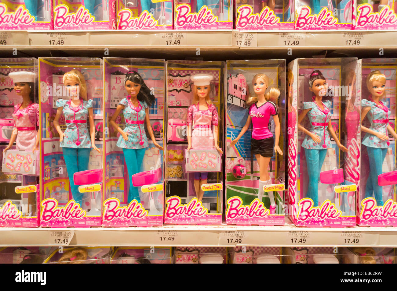 New Toys At Toys R Us : The barbie display at toys r us in times square new