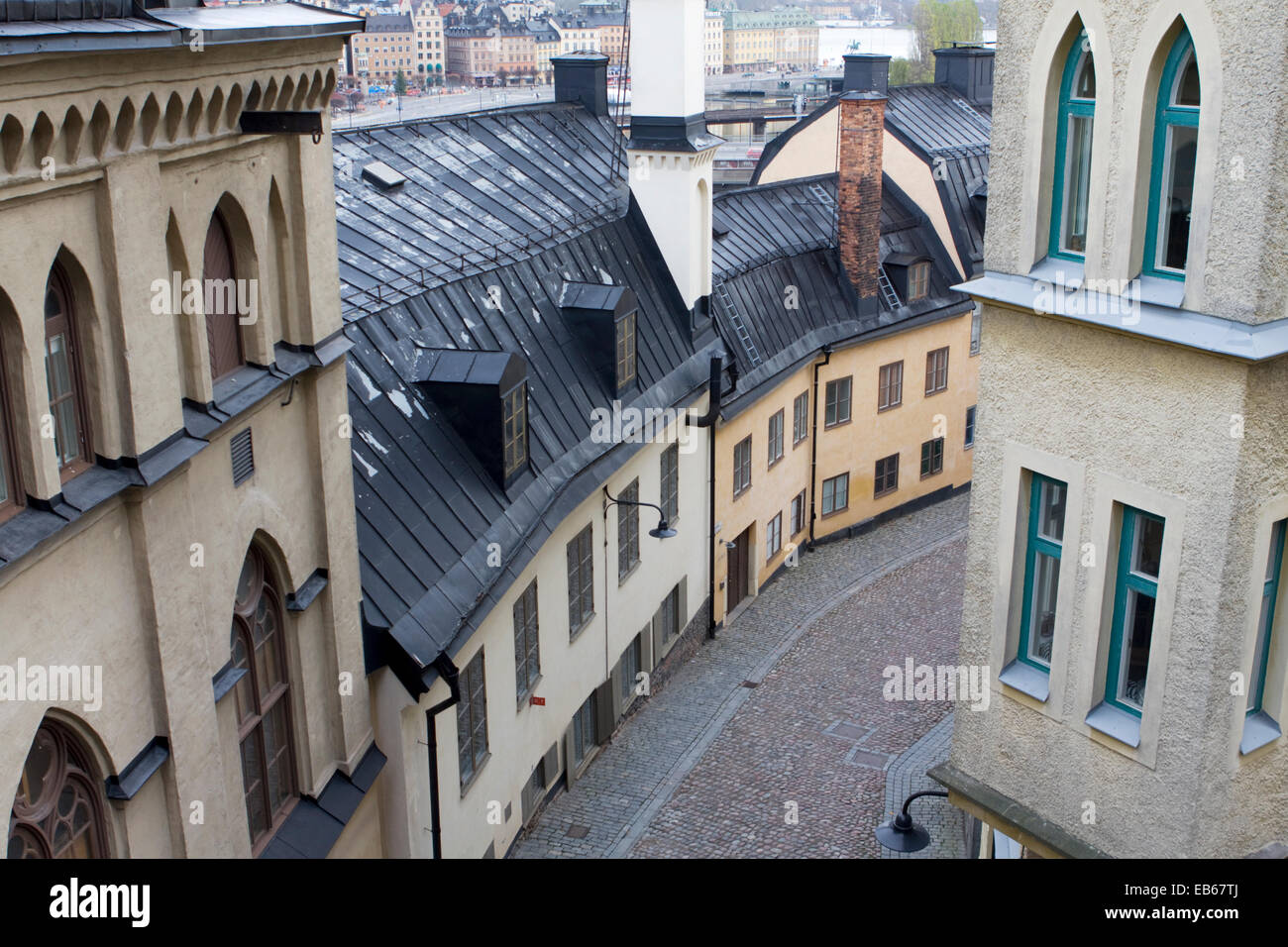 Old Town Stockholm - Stock Image