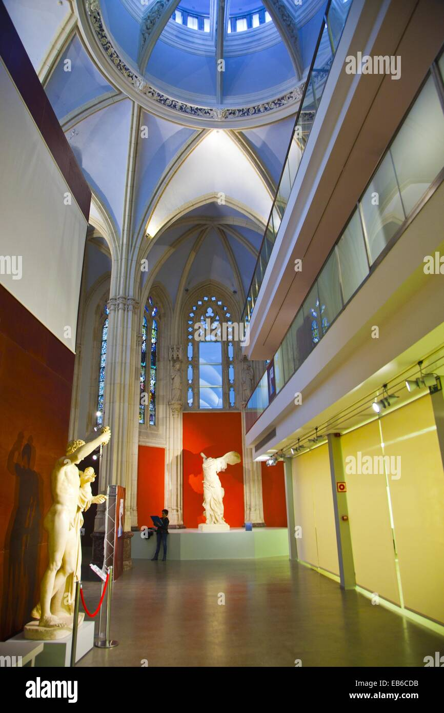 Artistic Reproductions Museum. Bilbao. Bizkaia. Vizcaya. Pais Vasco. Euskadi. Basque Country. Spain. - Stock Image