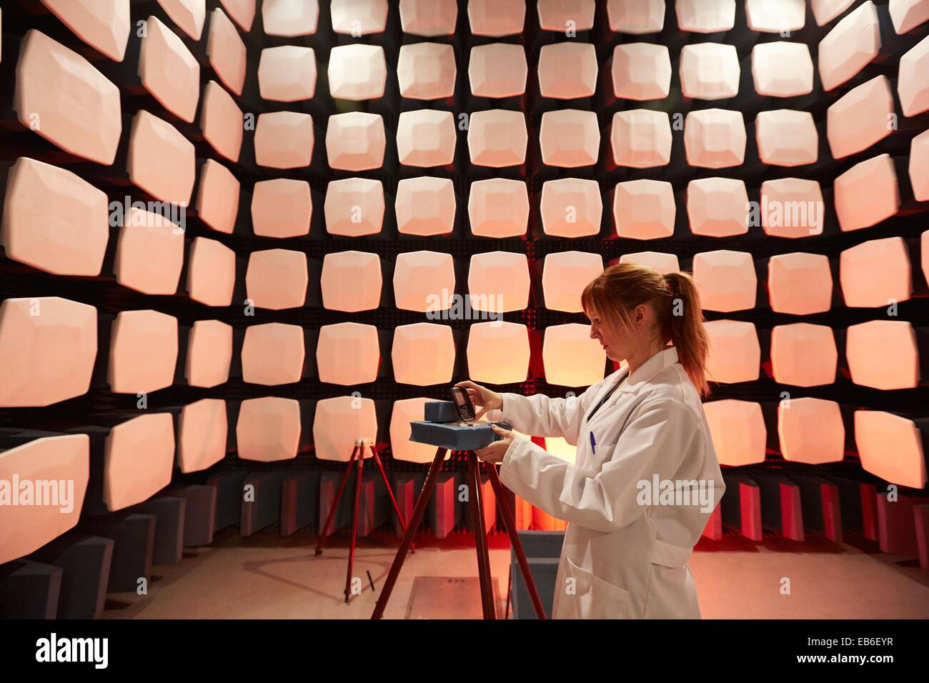 Anechoic Chamber Emc Telecom Lab Certification Of Low Voltage