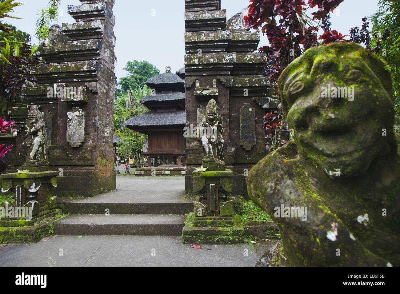 Pura Luhur Batukau temple, Bali, Indonesia Stock Photo