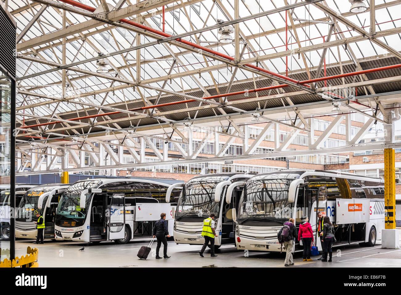 Victoria Coach Station - London - Stock Image