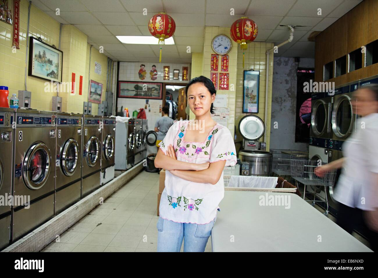 Laundry shop stock photos laundry shop stock images alamy laundry chinatown manhattan new york city usa stock image solutioingenieria Gallery
