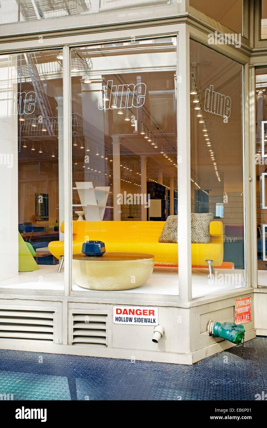 dune furniture 156 wooster street soho manhattan new york city