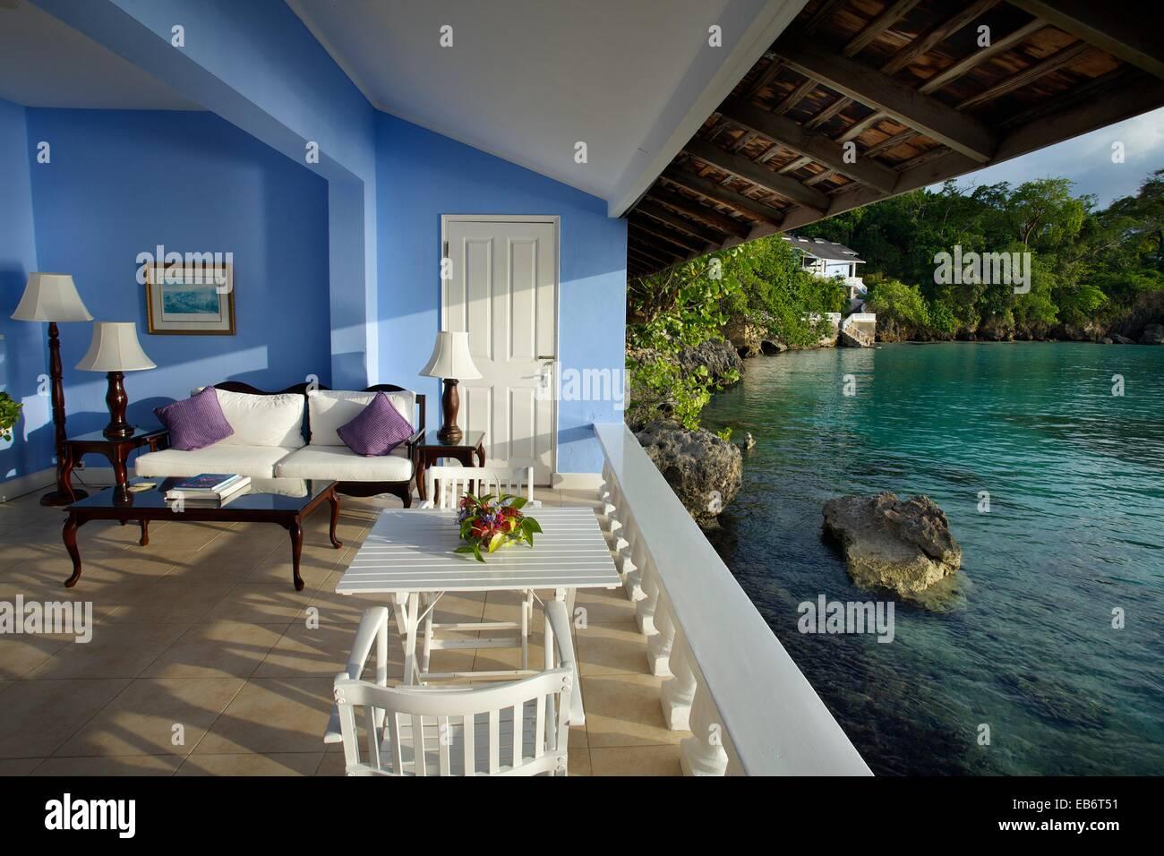 Jamaica Inn Hotel Ocho Rios Jamaica West Indies Caribbean Stock