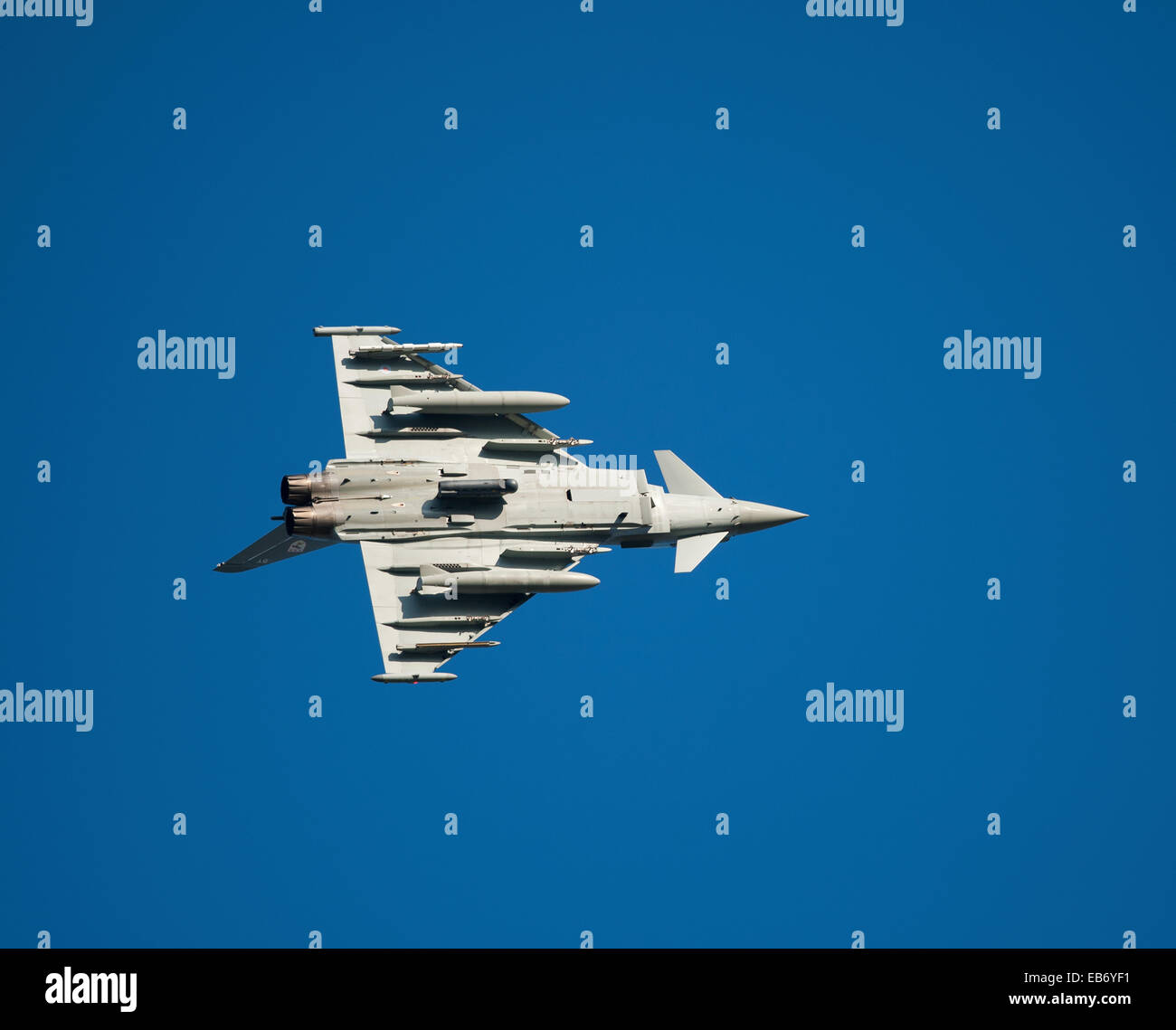 Eurofighter Typhoon FRG4 Military Fast Jet Fighter.  SCO 9196. - Stock Image