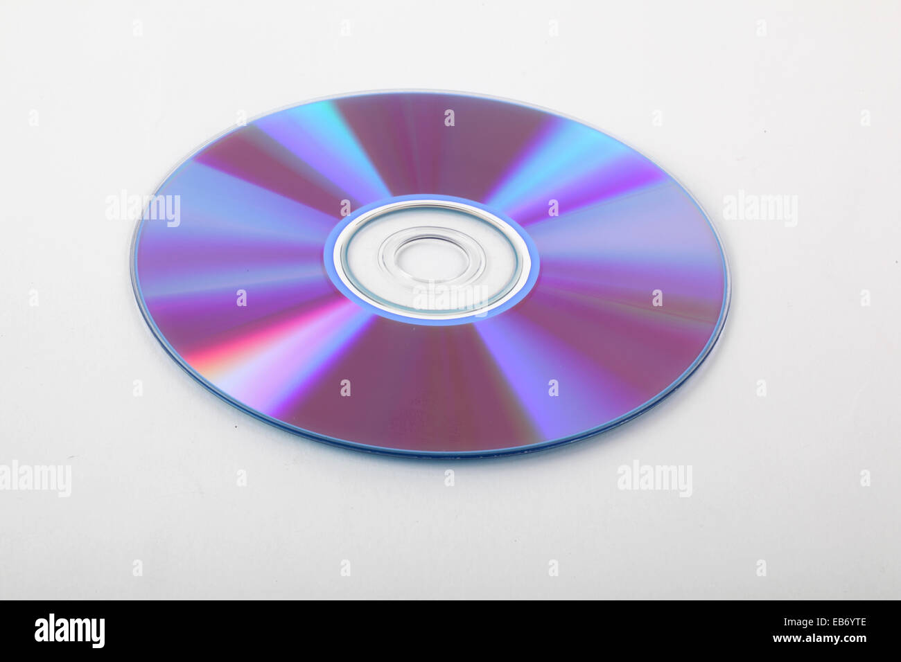 A stack of recordable discs - Stock Image