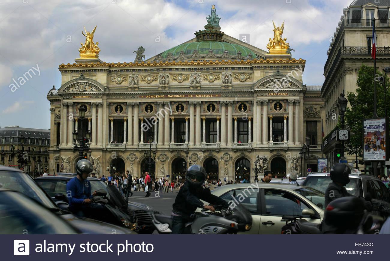Opera Garnier, Paris. - Stock Image