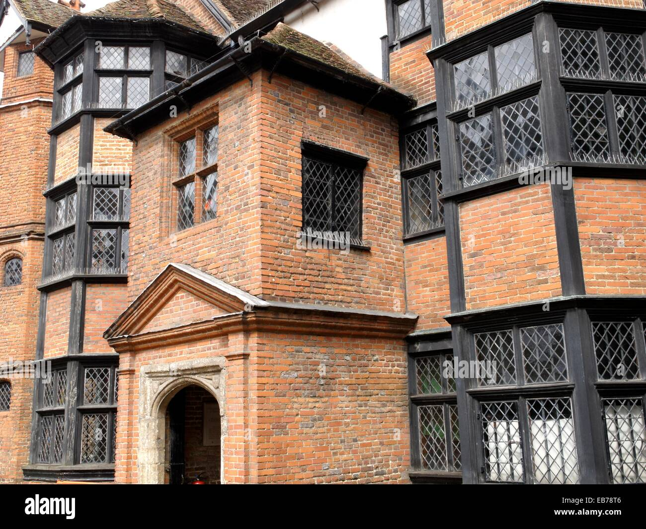 Eastgate house Elizabethan townhouse built by Sir Peter Buck City Alderman Major of Rochester and Clerck ofv the - Stock Image