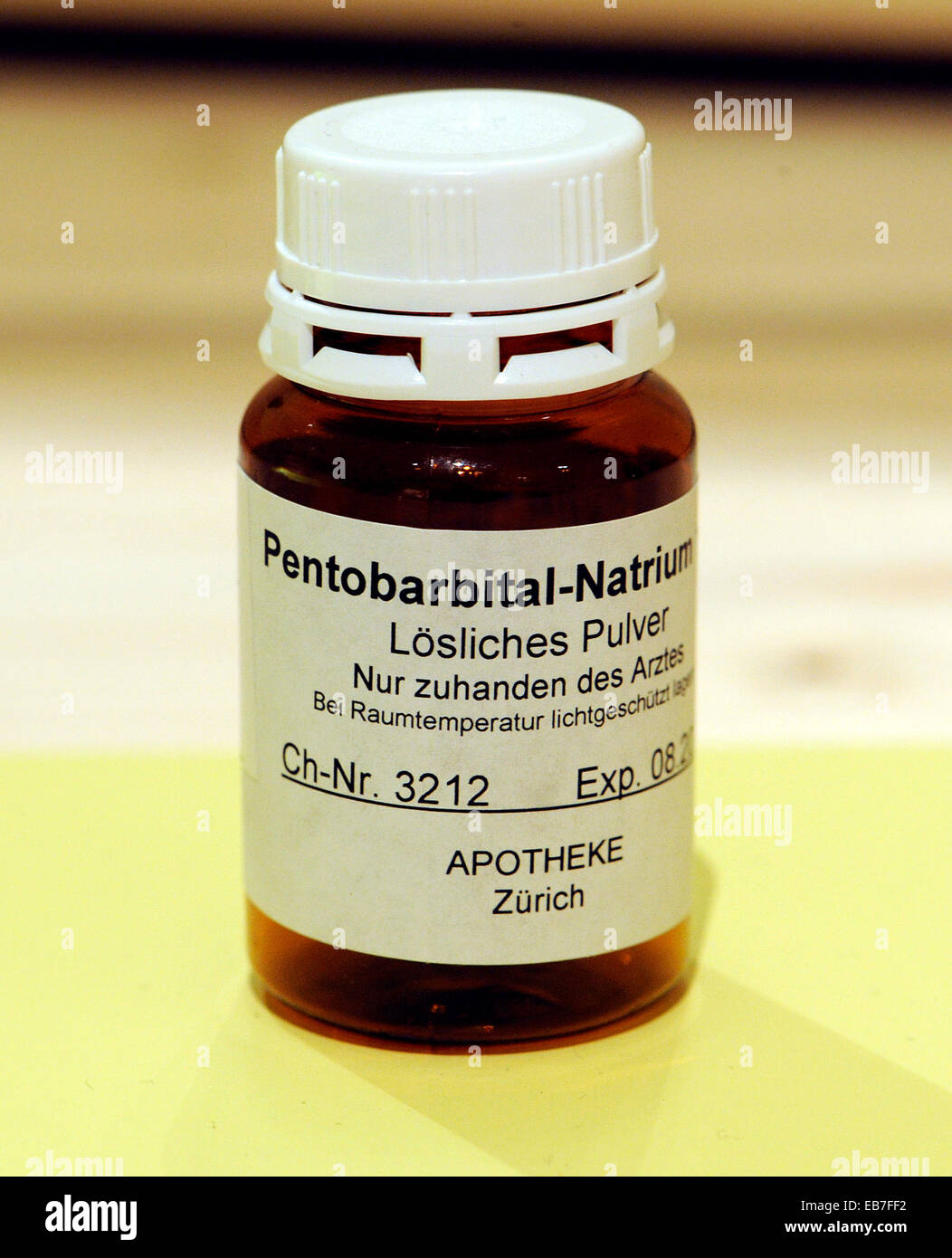 Pentobarbital Stock Photos & Pentobarbital Stock Images - Alamy