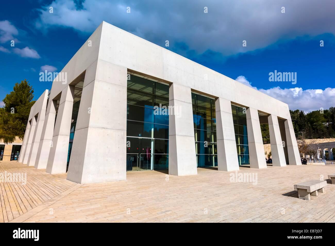 Yad Vashem, The Holocaust Martyrs´ and Heroes´ Remembrance Authority, Jerusalem, Israel - Stock Image