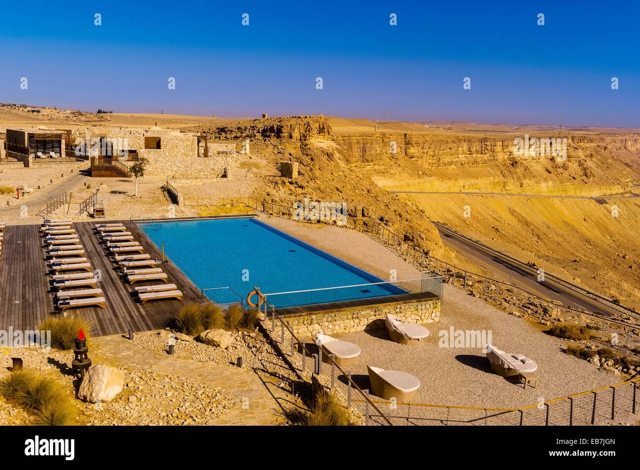 Swimming Pool Beresheet Hotel Mitzpe Ramon Negev Desert