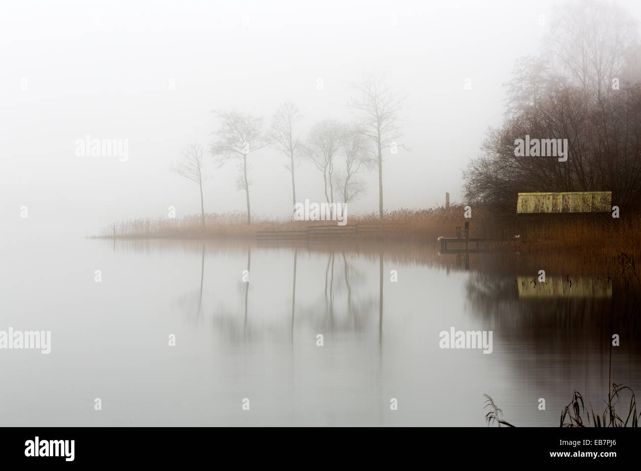 Loch Ard, The Trossachs, Scotland, November 2014 - Stock Image