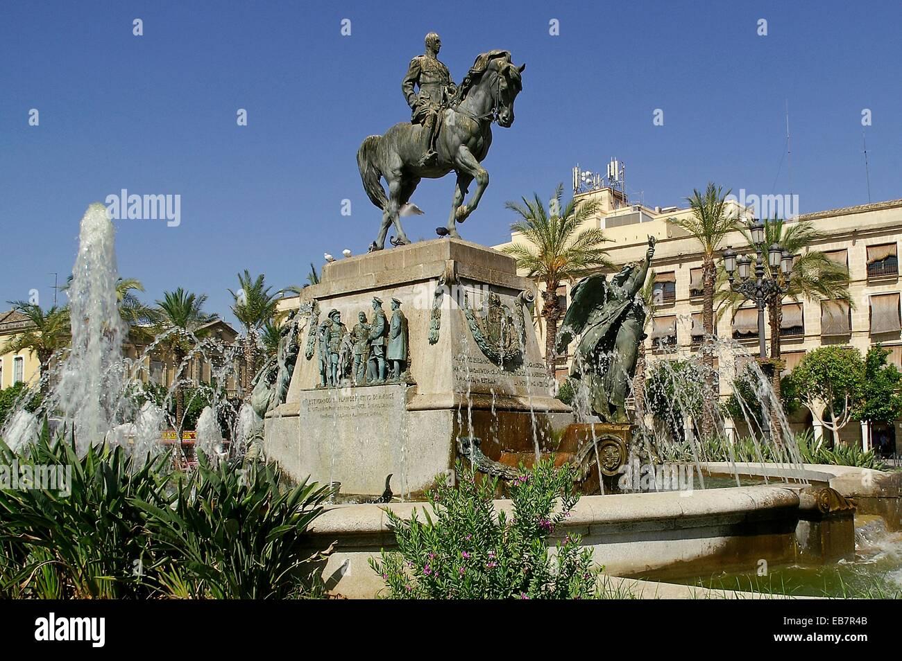 Jerez de la frontera cadiz spain arenal square in the for En jerez de la frontera