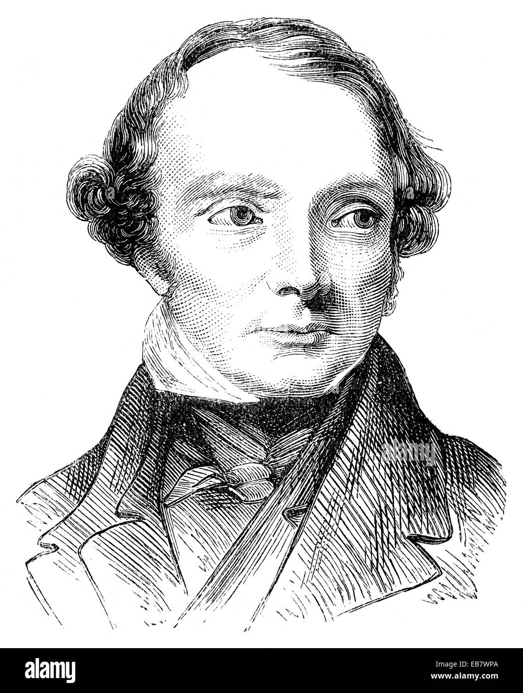 John Russell, 1st Earl Russell, 1792 - 1878, British Prime Minister under Queen Victoria, and liberal reformer, - Stock Image