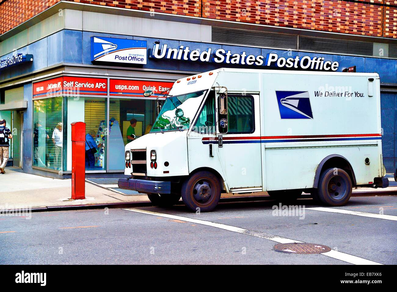 United Post Office Truck Stock Photos & United Post Office