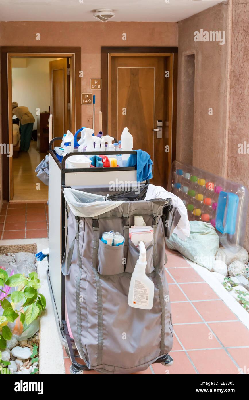 Hotel Maid Housekeeper Resort Stock Photos & Hotel Maid ...