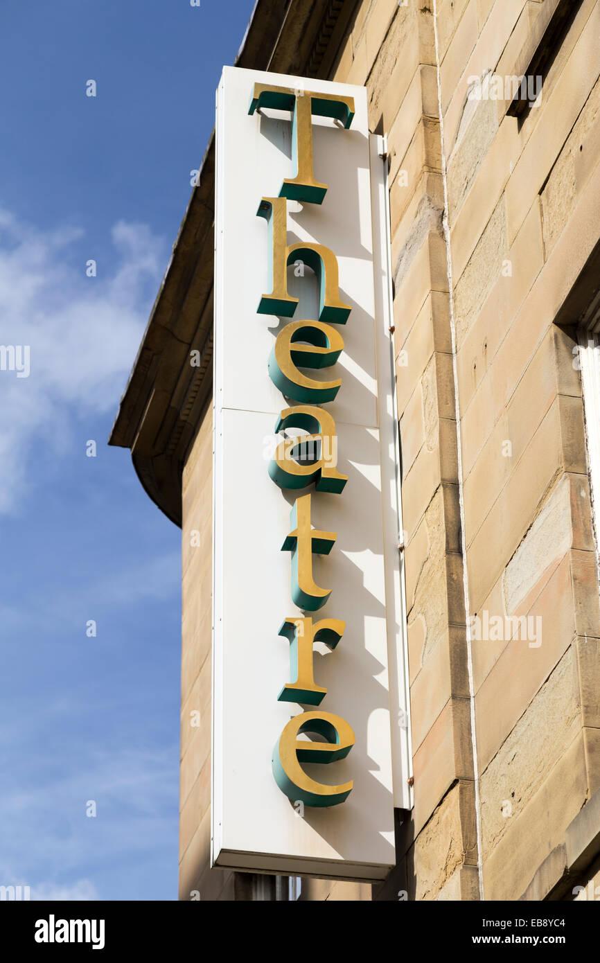 UK, Huddersfield, the Lawrence Batley Theatre. - Stock Image
