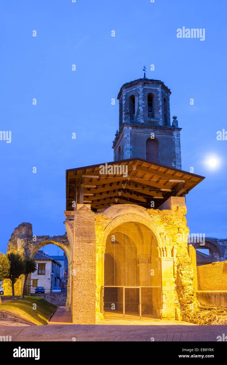 Sahagun, Way of St. James, Leon, Spain - Stock Image