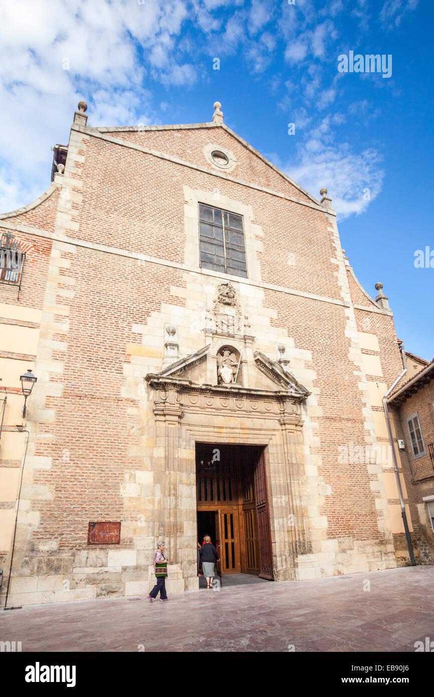 Church of Santa Marina la Real in Leon, Way of St. James, Leon, Spain - Stock Image