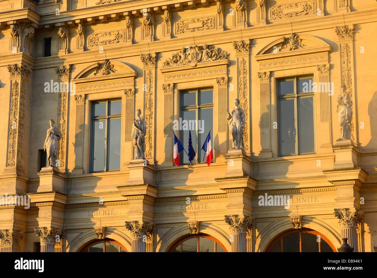 Paris commercial court ,France,Europe. - Stock Image