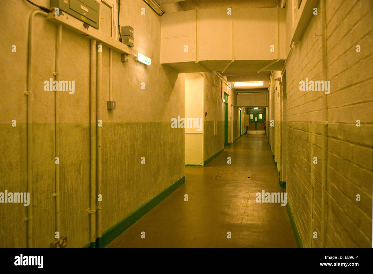 Hope Cove nuclear bunker, Devonshire, UK Stock Photo
