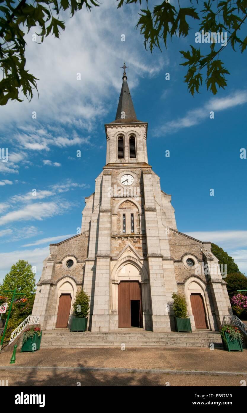 Saint-Pierre-des-Nids, Mayene, Pays de la Loire, France - Stock Image