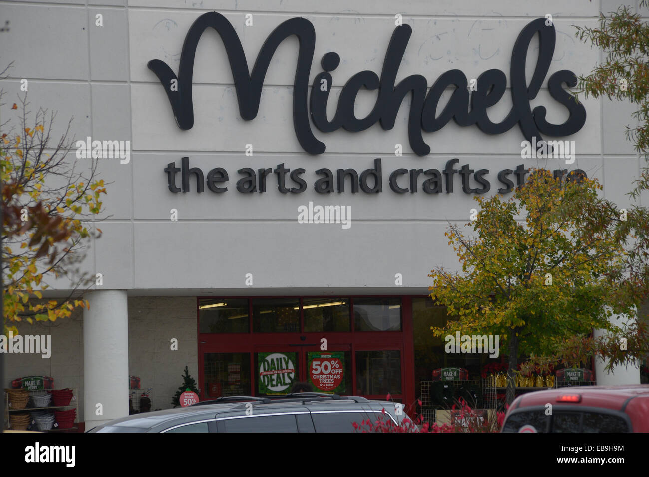 Michaels Arts and Craft Store in Bowie, Md - Stock Image