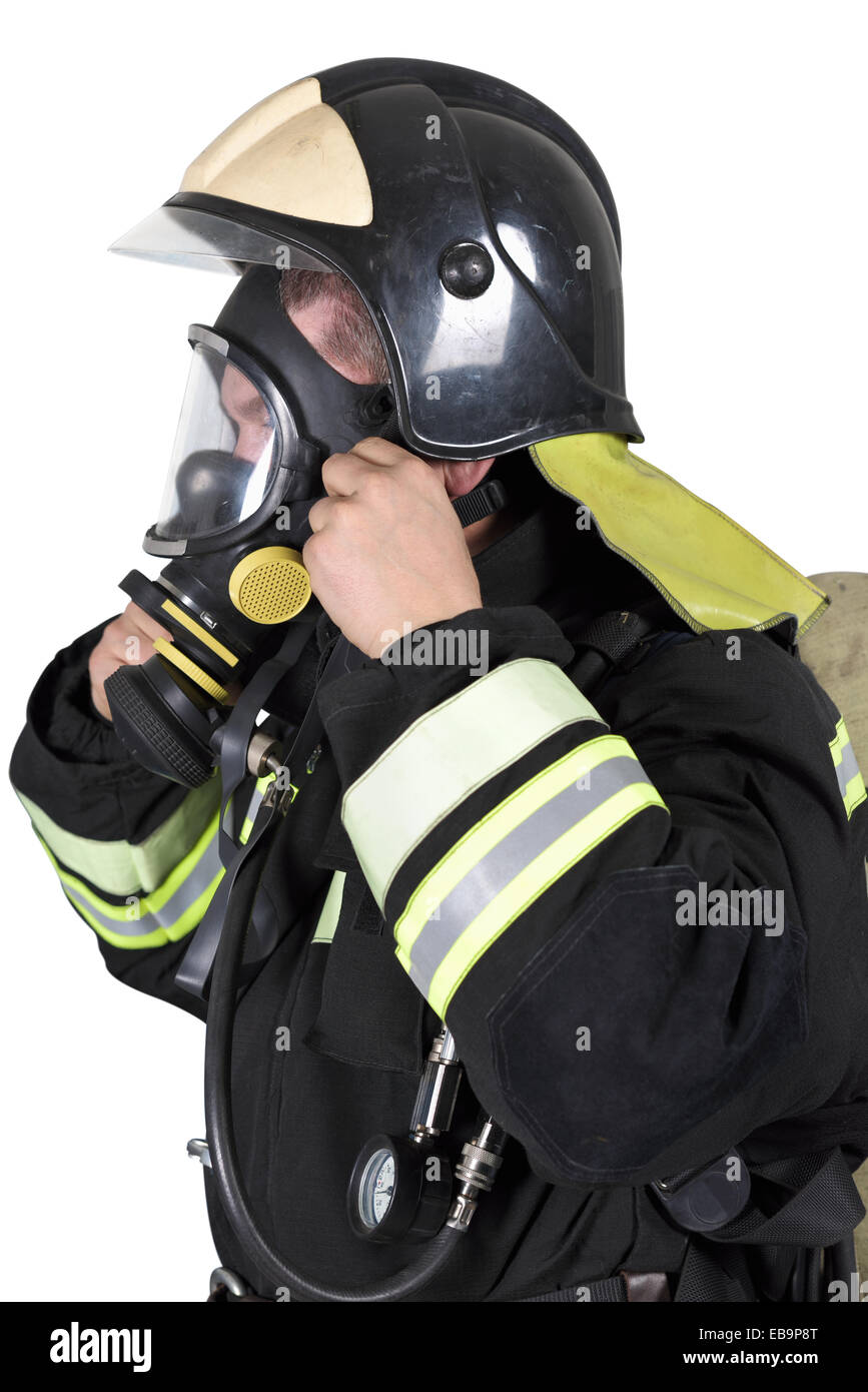 firefighter mask stock photos firefighter mask stock images alamy