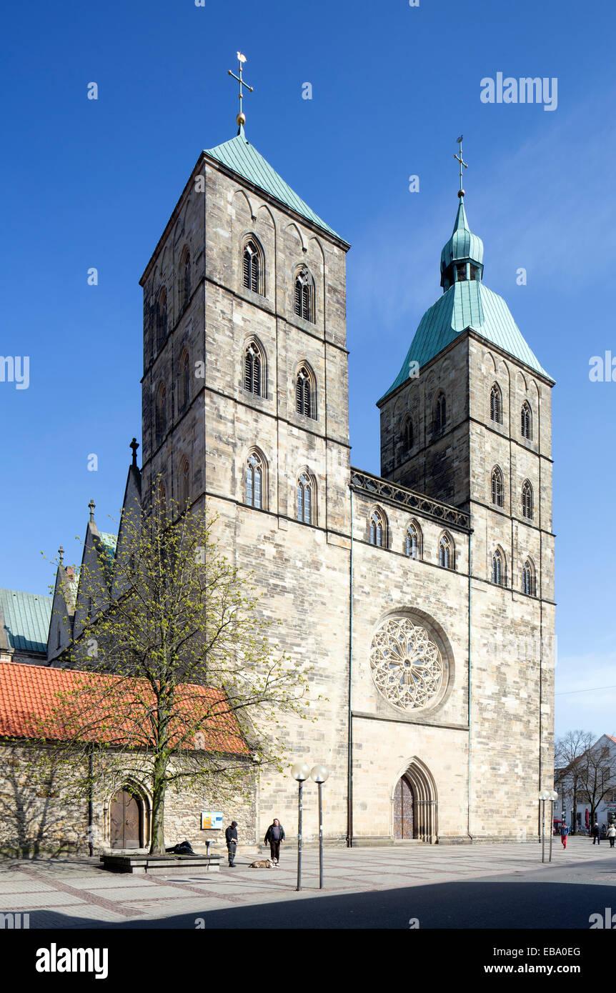 Johanniskirche, St. John's Church, Osnabrück, Lower Saxony, Germany - Stock Image